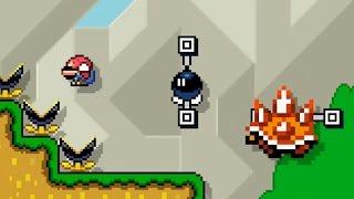 Super Mario Maker - Grassland Parkour by Typhlosion4President