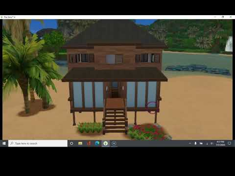 The Sims 4: Island Living Housebuild Only!! |