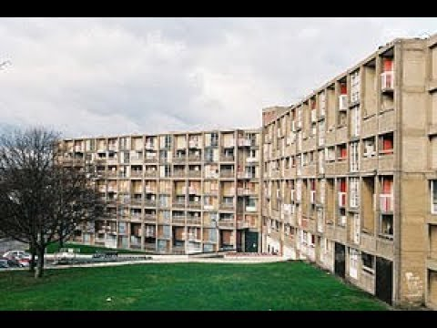 ABANDONED MASSIVE HOUSING ESTATE. PARK HILL ESTATE. ABANDONED FILM SET... THIS IS ENGLAND