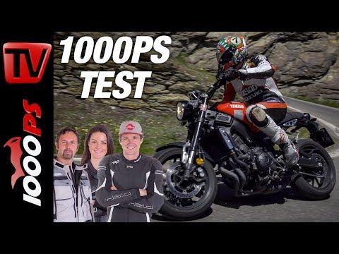 Überraschung! Mörderisches Nakedbike in den Bergen: Yamaha XSR 900