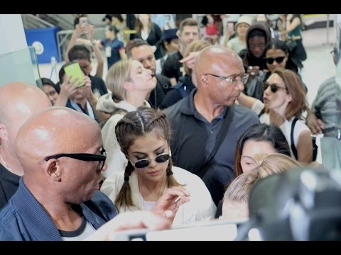 Selena Gomez arrives in MANILA Philippines