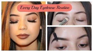 Everyday Eyebrow Routine | BeatsByLups