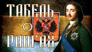 Российская Империя. Табель о рангах