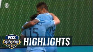 McNamara gives NYCFC 2-1 lead in Portland |  2016 MLS Highlights