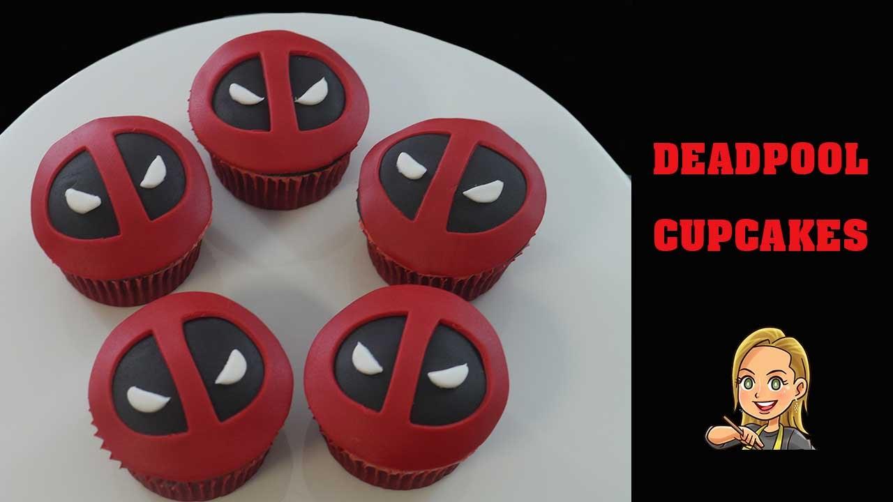 Deadpool Cupcakes Youtube