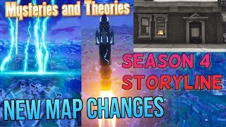 NEW MAP CHANGES AFTER ROCKET LAUNCHED! Fortnite Patch 4.5 All New Things (Secret Portals Mystery)