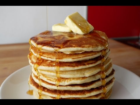 American Pancakes Selber Machen (Rezept) || Homemade American Pancakes (Recipe) || [ENG SUBS]