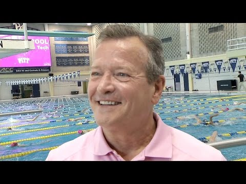 Swimming and Diving | Chuck Knoles Post Meet Interview