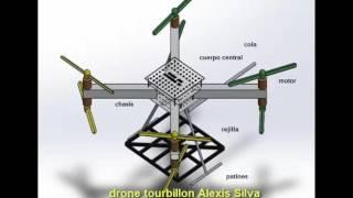 drone detector de minas por georradar