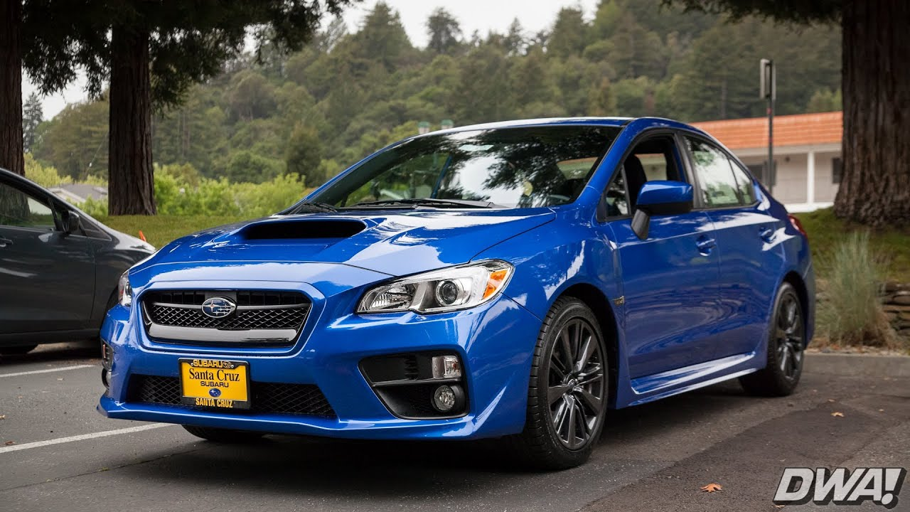 Subaru wrx drive