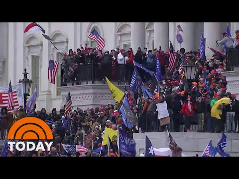 FBI Releases New Video Of Capitol Riots, Asks For Public's Help   TODAY