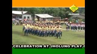 March Past by the students of St. Joseph's School, Paren, Jaldhaka