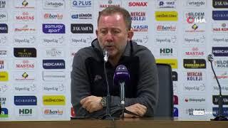 Sergen Yalçın, maçtaki o detayı eleştirdi! | Yeni Malatyaspor - Beşiktaş : 0-1