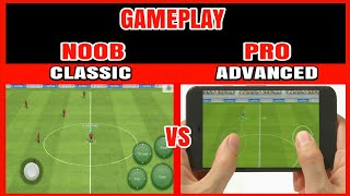 Pes 2018 Mobile   Gameplay Noob Vs Pro