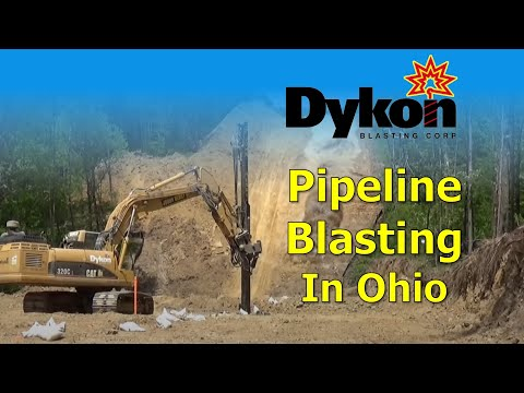 Pipeline Blasting in Ohio