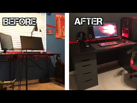 Completely Remaking My Gaming Setup | Room Renovation Video