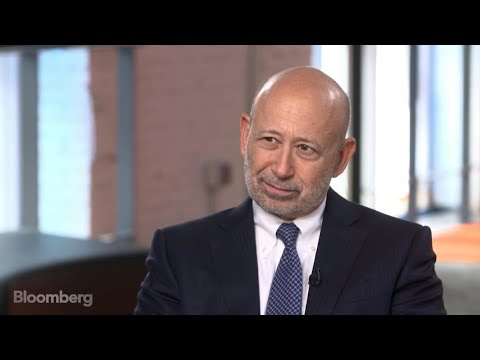 Goldman CEO on Small Business, Volcker Rule, FICC Trading