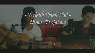 Terlatih Patah Hati - The Rain Cover Acoustic ( official lirik )