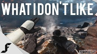 What I don't like about Star Wars Battlefront Beta