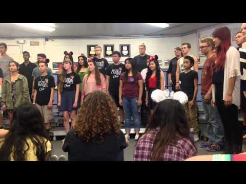 Las Vegas Academy for the Arts singing islander song