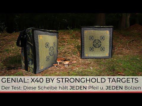 Brandneu: Die Zielscheibe Stronghold X40 verspricht viel - wir testen sie mit allen