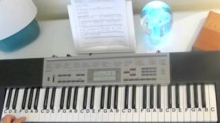 How to Play ~ Jesus Loves Me - Sunday School-Gospel ~ LetterNotePlayer ©