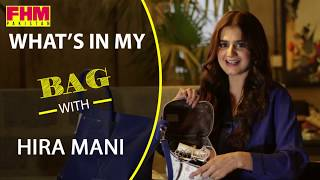 What's In My Bag with Hira Mani | FHM Pakistan