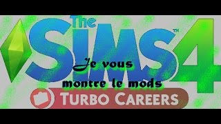 Sims 4 Mods Turbo carrières !
