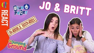 Jo & Britt React to British TV