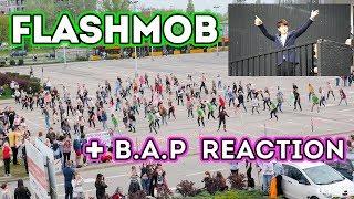 B.A.P FLASHMOB + REAKCJA (Warsaw Boom 2017) [170506]