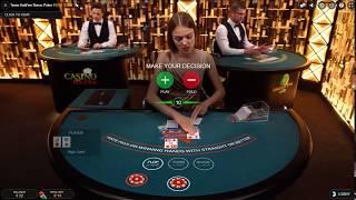 Live Texas Hold' em Bonus Poker - How Can I Beat The Dealer