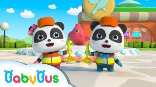 ❤ The Wonderful Cleaners - Clean Up Is Fun | Nursery Rhymes | Kids Songs | BabyBus
