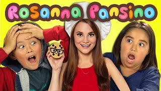 Kids React to Rosanna Pansino (Nerdy Nummies)