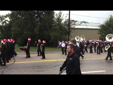Tomball High School Band 2015 - Tomball Holiday Parade