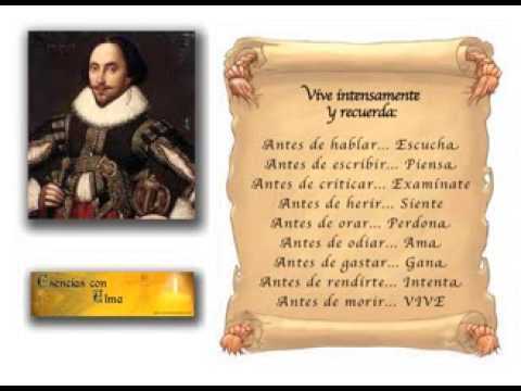 Reflexiones Y Pensamientos De William Shakespeare