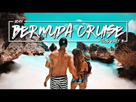 Bermuda Cruise & Cliff Jump - TRAVEL VLOG 2017 - Anthem of the Seas Part 3