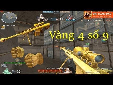 [ Bình Luận CF ] 3z-Ultimate Gold, Gold Fist - Tiền Zombie v4
