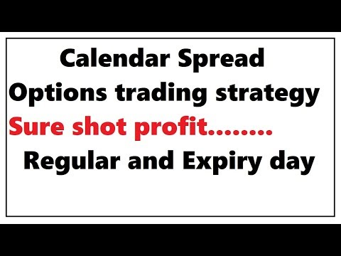 Options trading strategy | Calendar spread options strategy