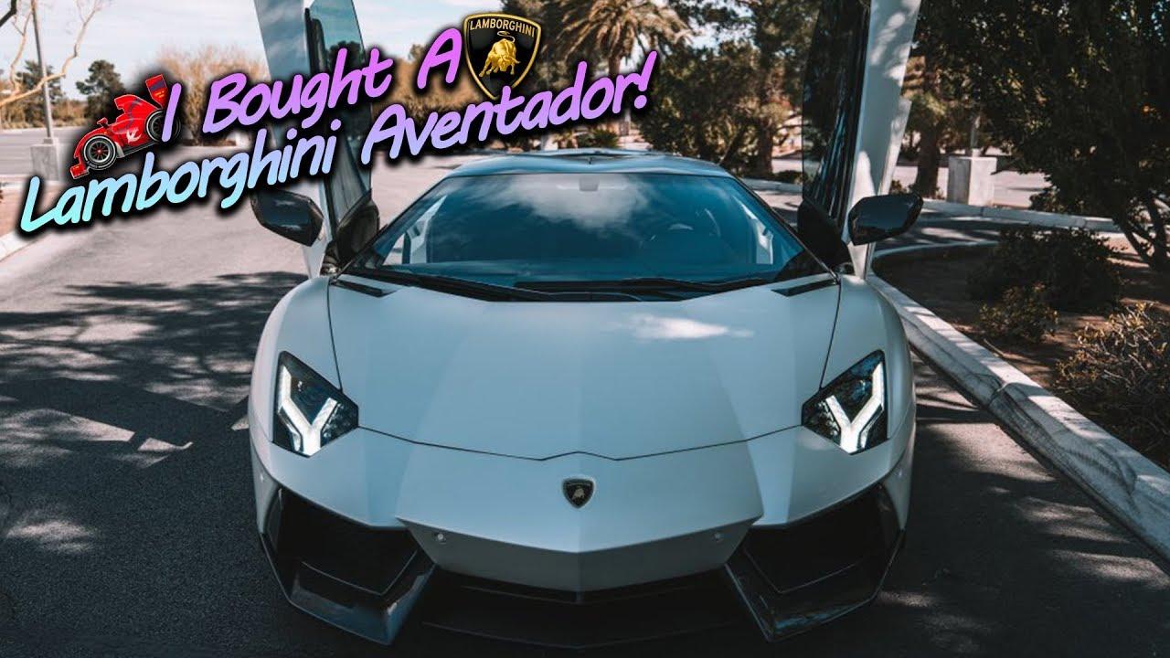 I Bought A 500000 Lamborghini Aventador
