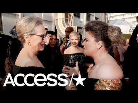 Kelly Clarkson On Meeting Meryl Streep & Being At The Golden Globe Awards For The First Time