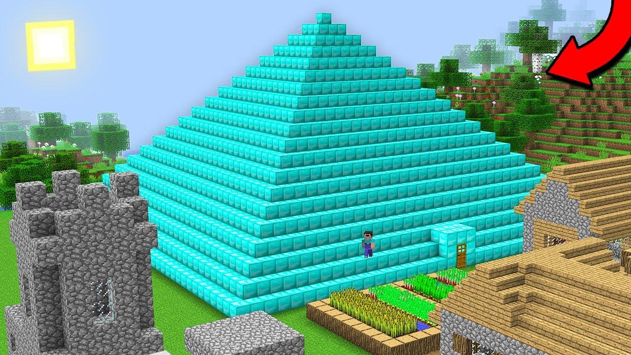 THIS IS DIAMOND PYRAMID IN THIS VILLAGE! Minecraft - NOOB vs PRO