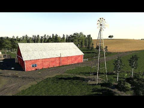 Farming Simulator 19  ОБЗОР КАРТЫ  Lone Oak Farm