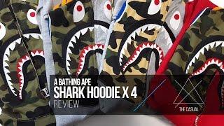 Bape Shark Hoodie Review x 4, Legit Check Tips, & Sizing