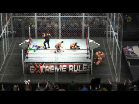 WWE 2K14: The Rock, Jeff, CM Punk, John...