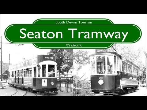 Le Tramway de Seaton. Seaton Tramway. Trams. Cab Ride. Narrow Gauge Railway UK. South Devon Tourism.