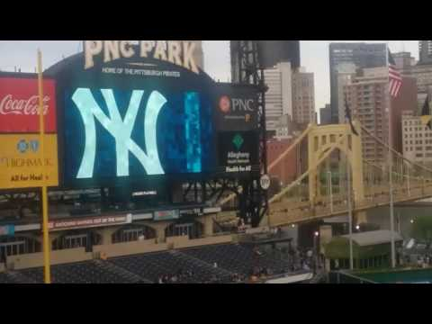 2017 PNC Park Pittsburgh Pirates VS New York Yankees