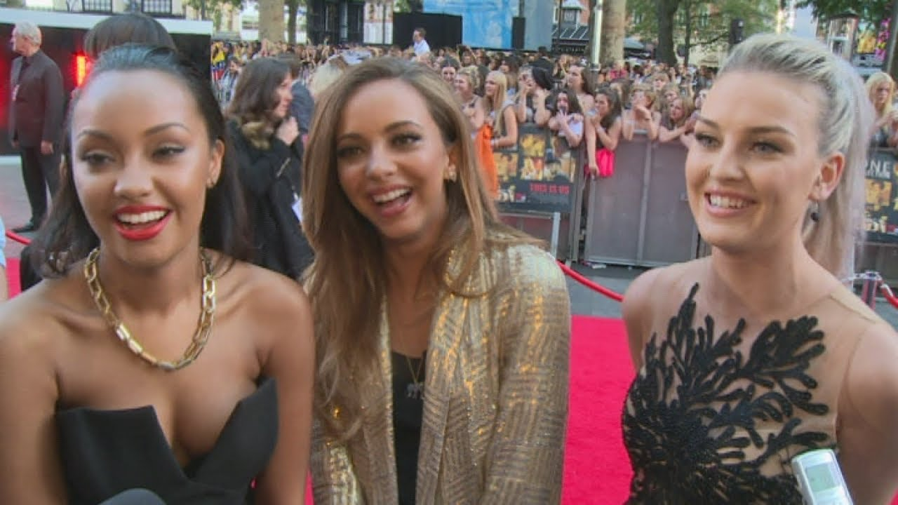ONE DIRECTION WORLD PREMIERE: Perrie Edwards gushes over fiance' Zayn ...