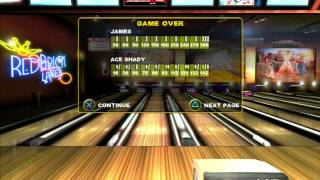 Brunswick Pro Bowling-Ps3 Game Play-Tournament
