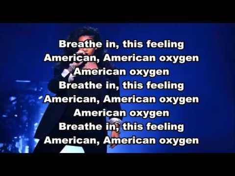 Rihanna   American Oxygen lyrics video