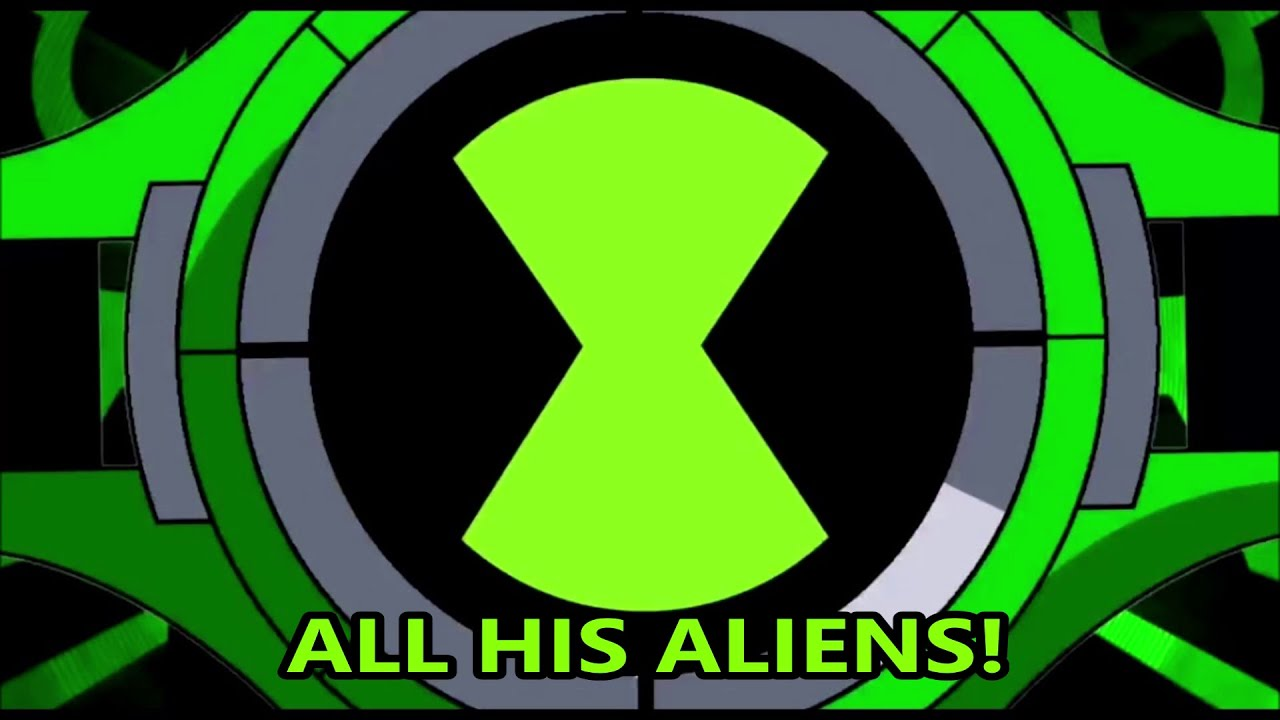 Ben 10 All His Aliens Music Video Youtube